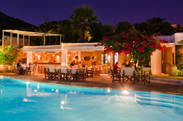 Kavos Boutique Hotel, Villas in Naxos, Stelida Restaurant