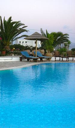 Honeymoon at Kavos Hotel Naxos Greece