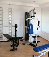 Gym and fitness at Kavos hotel in Naxos Island Greece