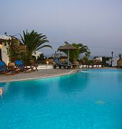 Kavos hotel in Naxos Island